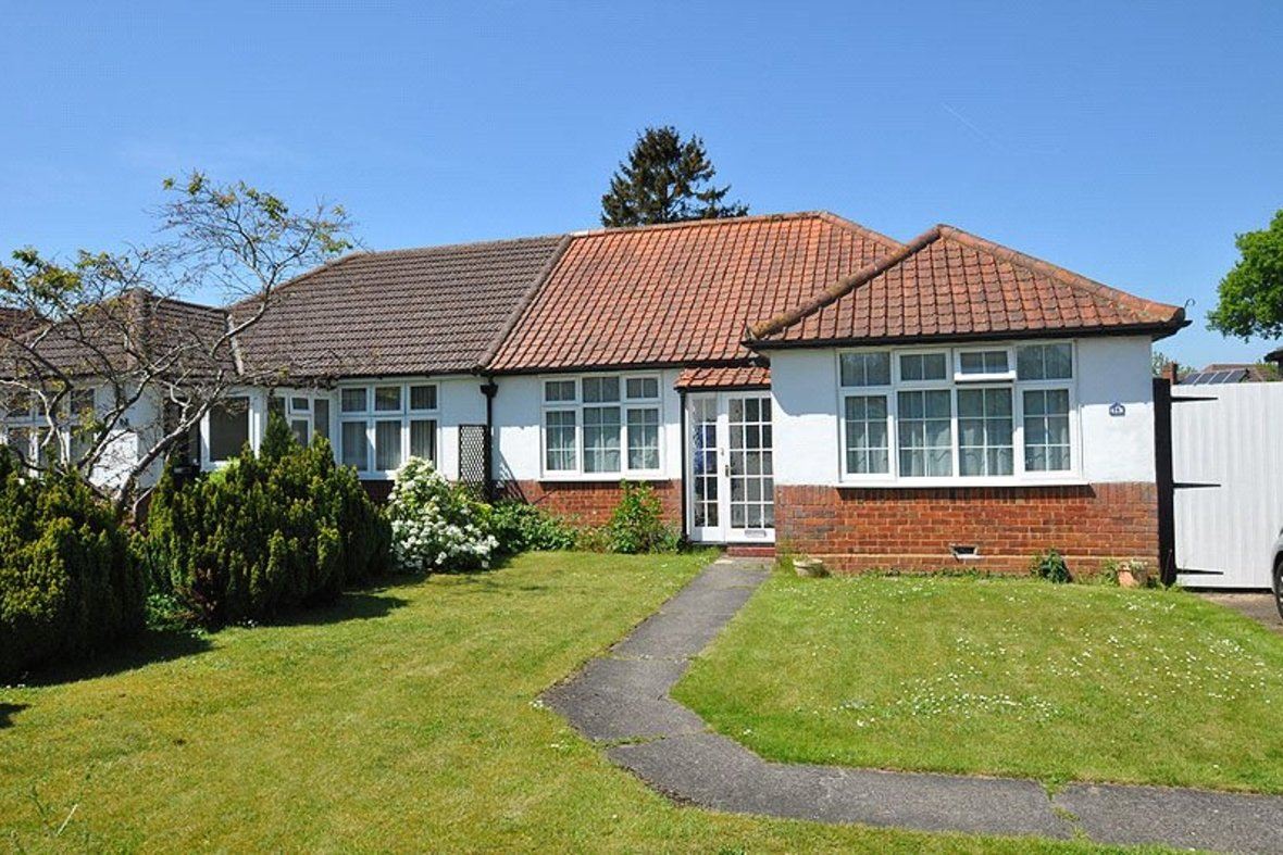 2 Bedrooms Bungalow New Instruction in Stanley Avenue, St. Albans, Hertfordshire - View 1 - Collinson Hall