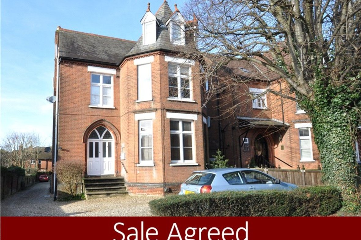 1 Bedroom Apartment Sold Subject To Contract in Beaconsfield Road, St. Albans, Hertfordshire - View 1 - Collinson Hall